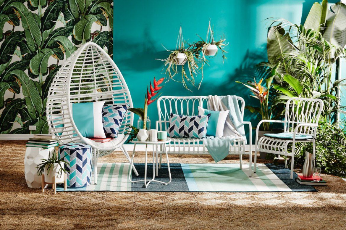 The New Kmart Homewares Collection will Blow Your Mind | Beach patio ...