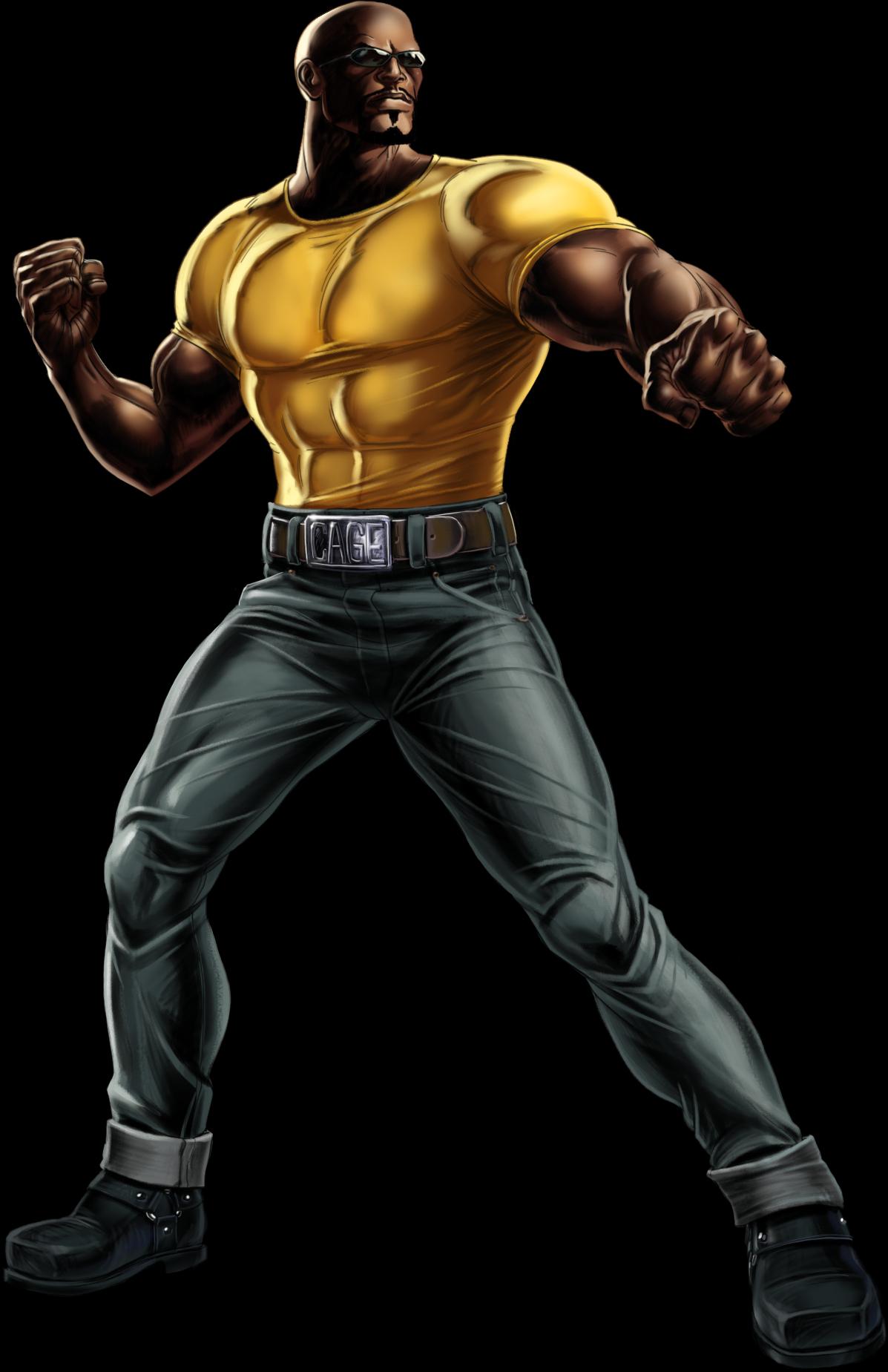 Luke Cage Earth 12131 Luke Cage Marvel Marvel Avengers Alliance Luke Cage