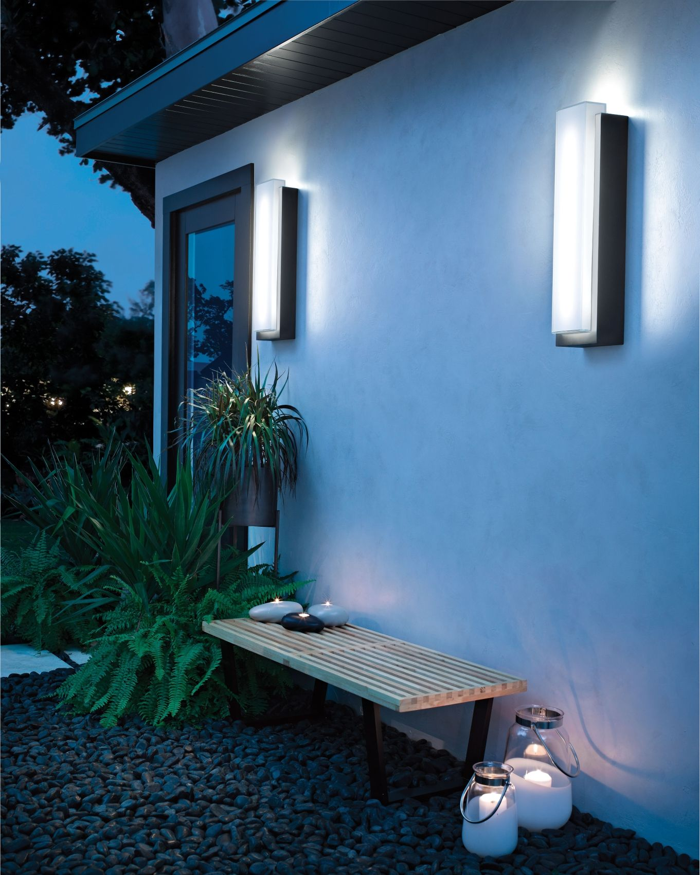 Kichler Dahlia 2 Light Led Large Outdoor Wall In