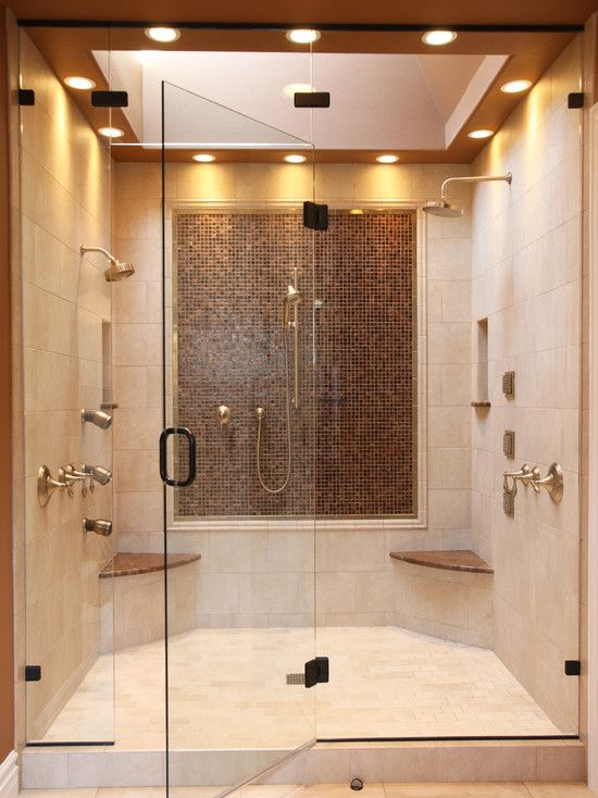Great two person shower Home Inspiration Pinterest
