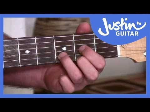 A, D and E Chords - Easy Chord Changes Using Anchor Fingers ...