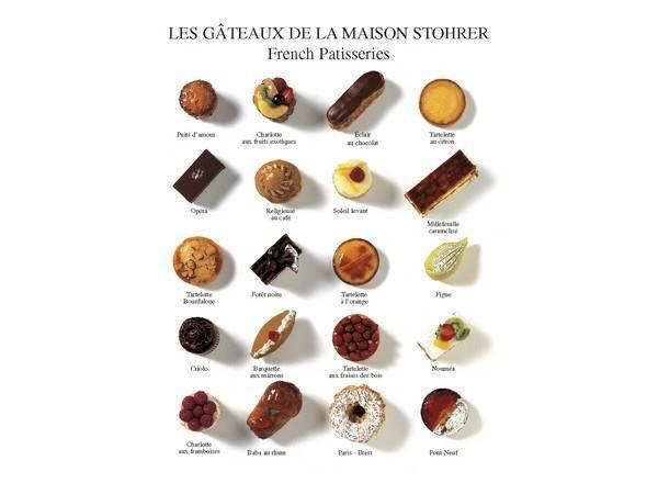 les gâteaux de la maison Stohrer