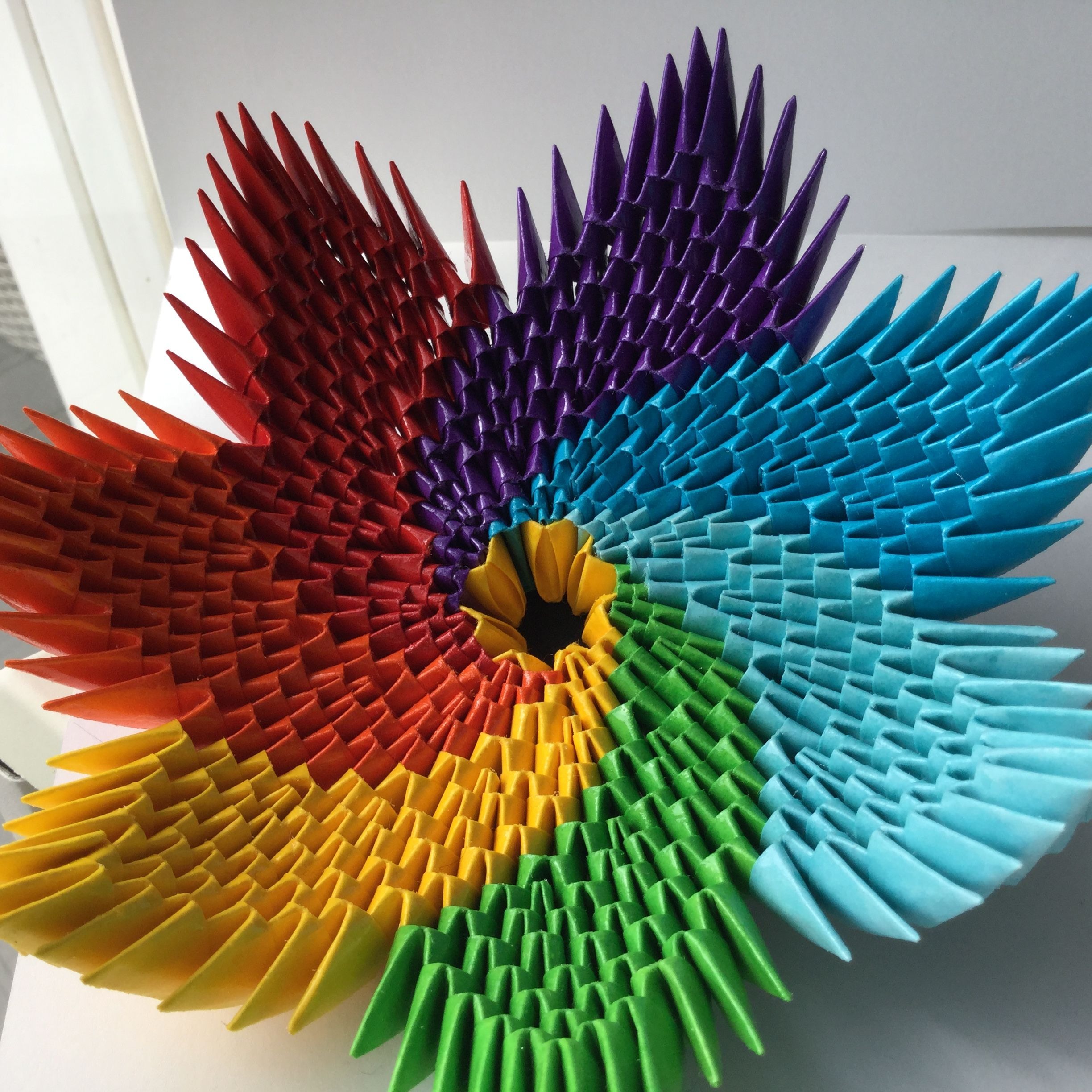Rainbow bowl CREA | Origami-Kirigami | Pinterest ... - photo#42