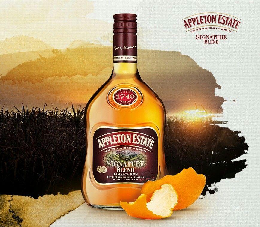 Appleton Estate Signature Blend Rum tasting, Appleton