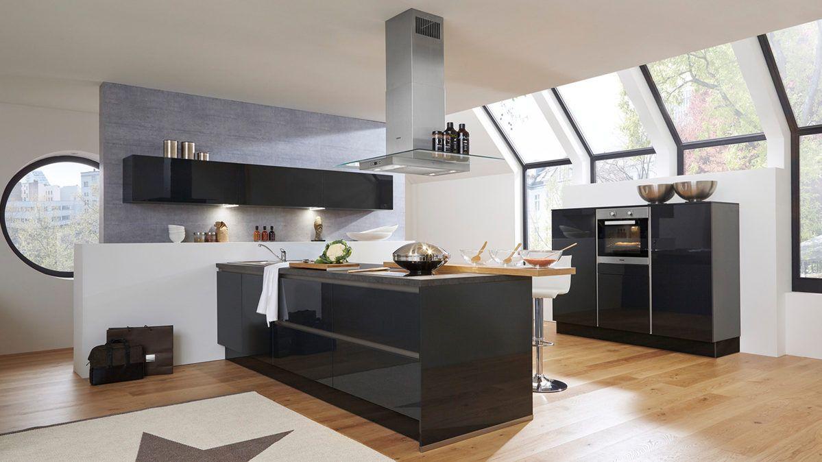Culineo Einbauküche mit Miele-Elektrogeräten #Küchen #kitchen