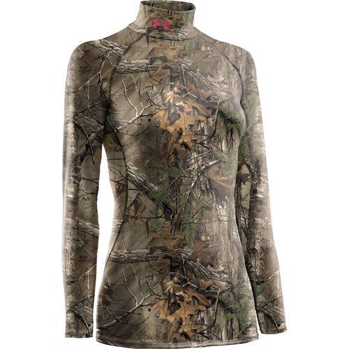 6d10ec32 Under Armour® Women's Evolution ColdGear® Scent Control Mock Turtleneck