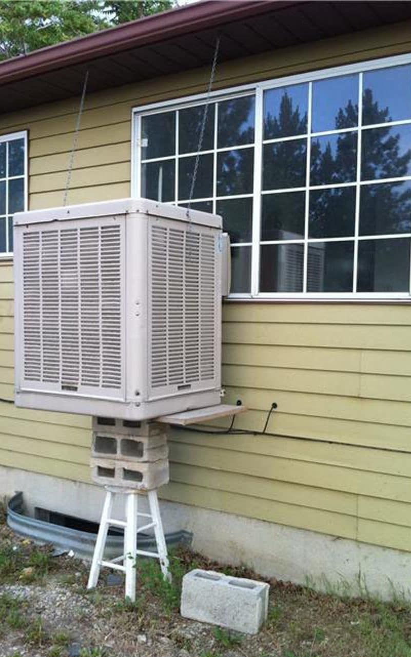 That'll do the funniest DIY bodge jobs of all time Hvac