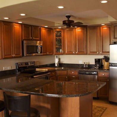 U Shaped Kitchen Designs  Family Room U Shaped Kitchen Design Inspiration Kitchen Design Hawaii Decorating Inspiration