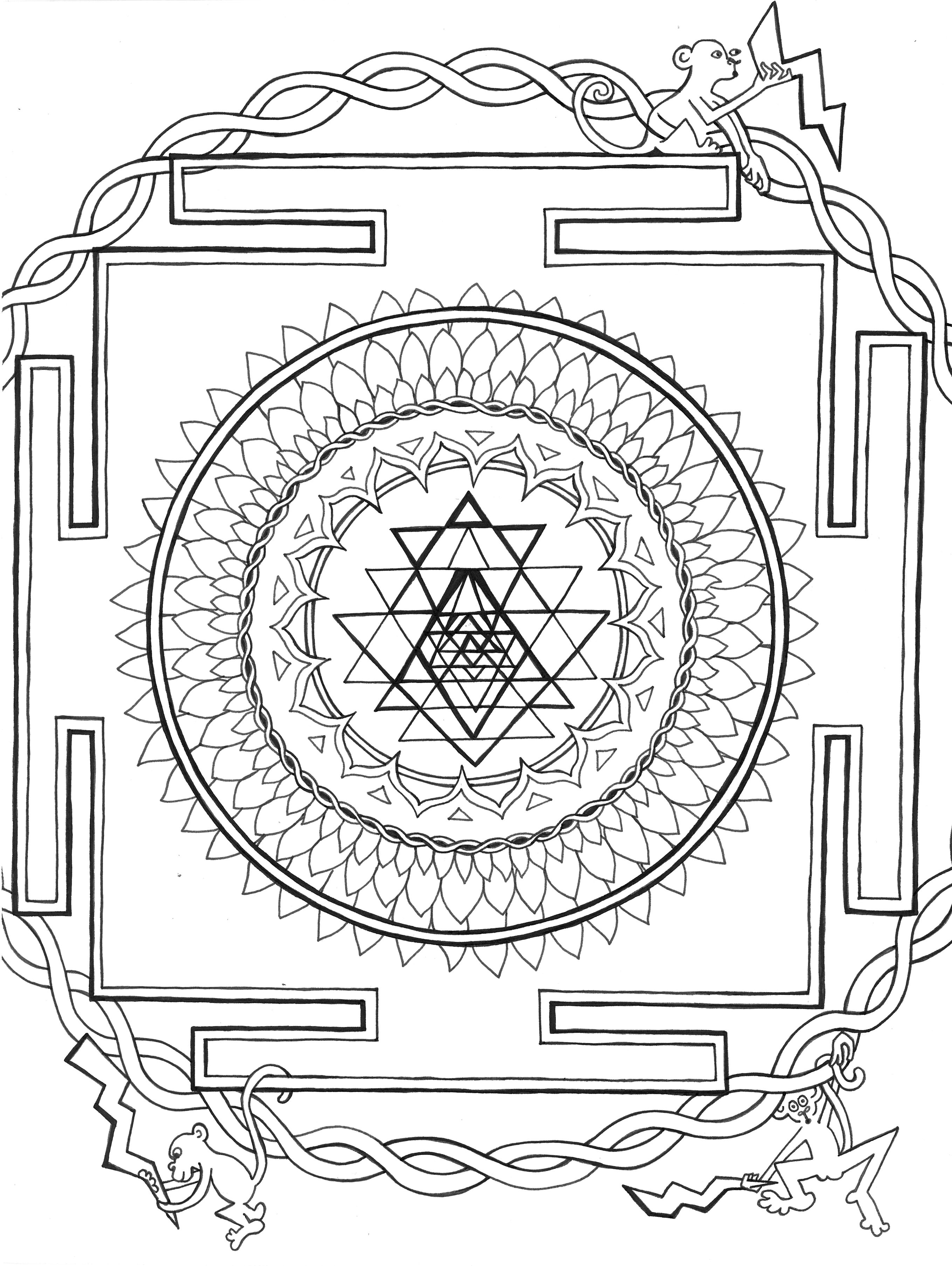 Mandala Translates To Circle In Sanskrit And Is A Powerful Symbol