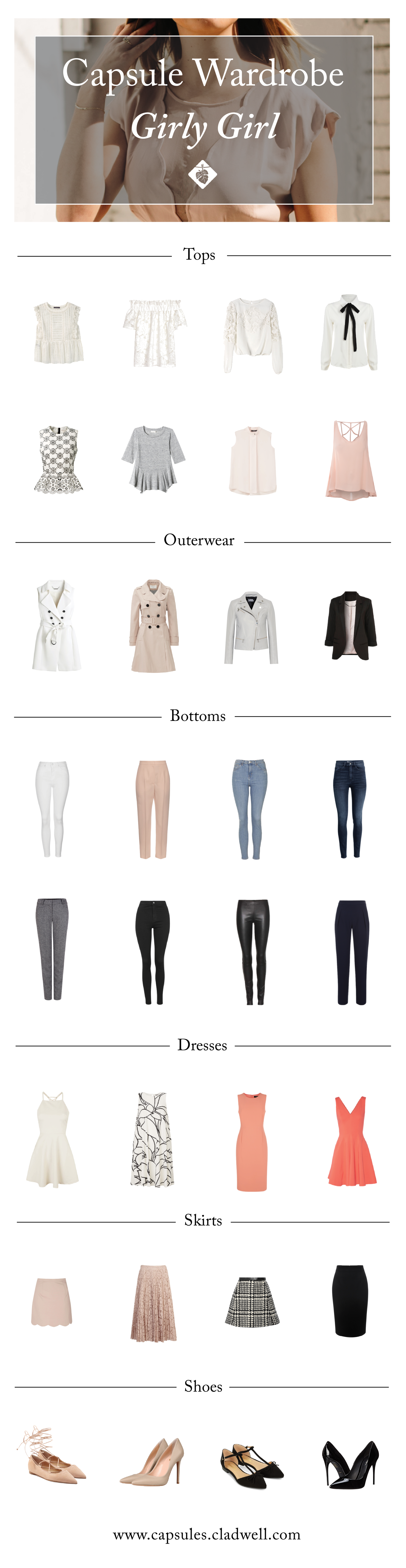 Need Help Defining Your Style? Try Out The Girly Girl Capsule.