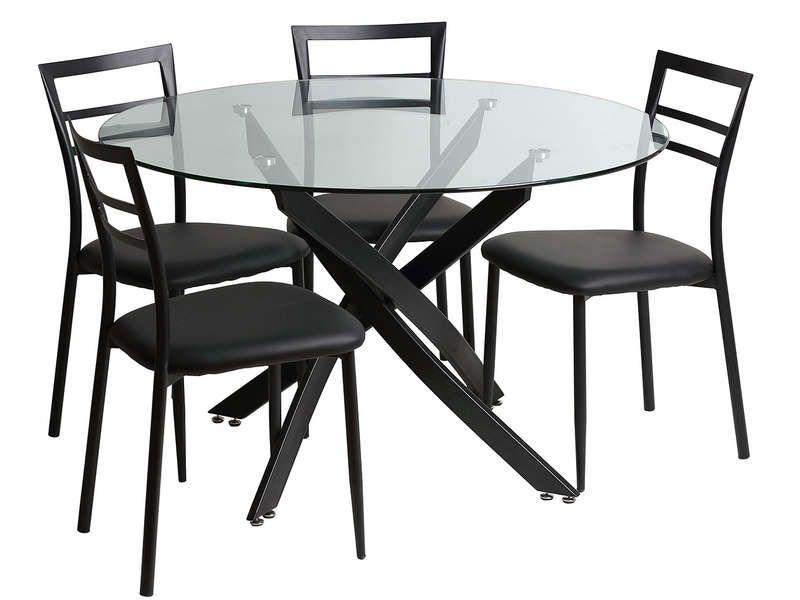 ensemble table et chaises de sejour