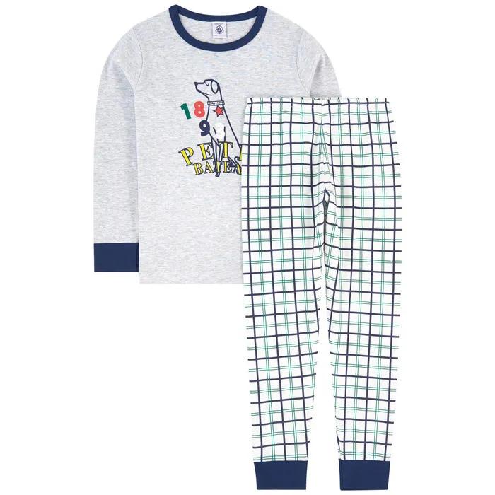 Petit Bateau Pantaloni Pigiama Bambino