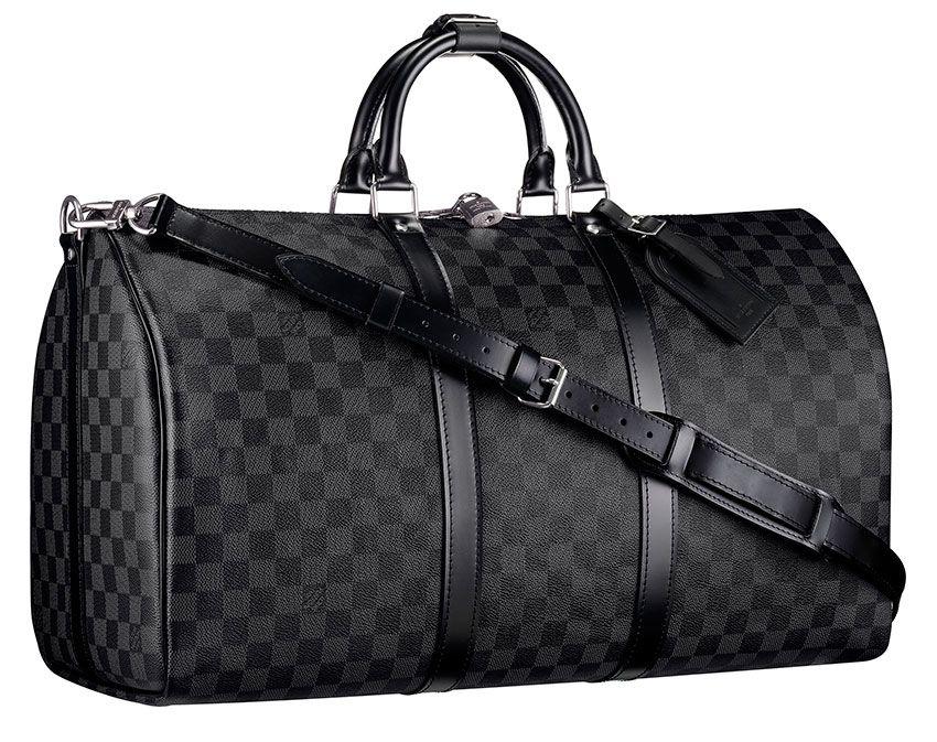 8e44f7dc9719 Louis Vuitton Damier Graphite Keepall