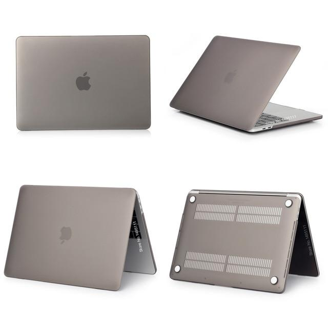 Macbook Pro Case 15 Inch 2018 Touch Bar Hard Shell Matte Gray In 2020 With Images Macbook Case Macbook Pro Case 15 Inch Apple Macbook Cases