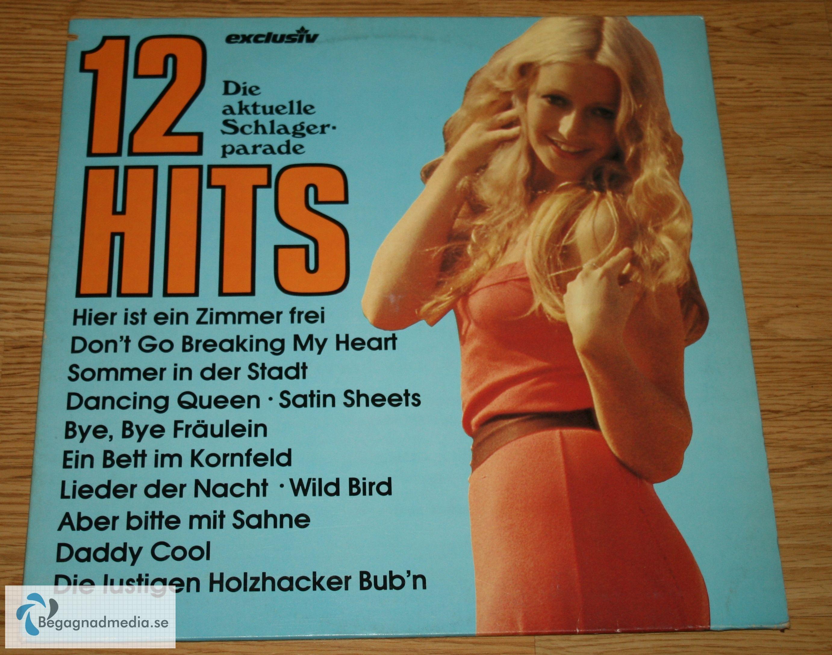 #12#Die#Aktuelle#Schlager#Parade#Vinyl