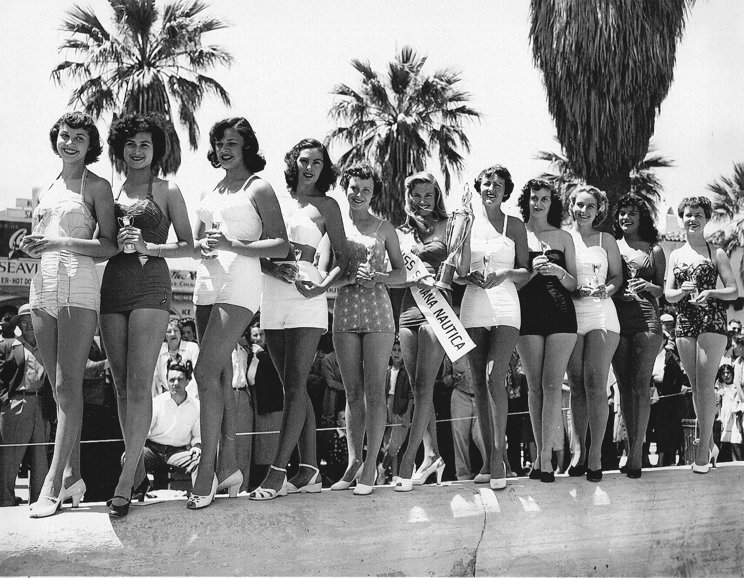 My Friend's Mom Miss Semana Nautica 1950's (guess which won she is).