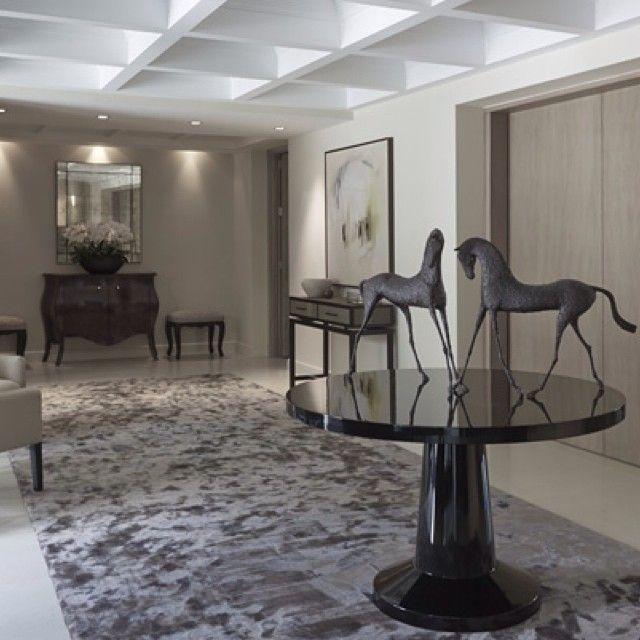 Luxury Foyer Interior Design: Sophie Paterson Interiors