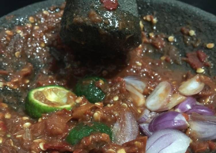 Resep Sambel Terasi Tomat Mentah Oleh Just Elisabeth Resep Makanan Resep Masakan Indonesia Resep Masakan