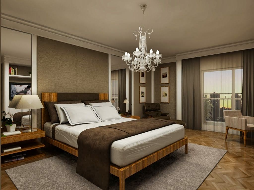 Quartos De Casal Decorados Veja Dicas E Modelos Dormitorios  ~ Quarto Decorado Casal Pequeno E Quarto De Visita Pequeno