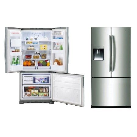 samsung door is stylish exterior french door that keeps your food fresh for a long time with the twin cooling plus system