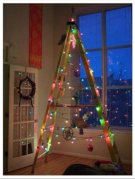 6fe757a434f 31 ideas para tu árbol de navidad con materiales reciclados