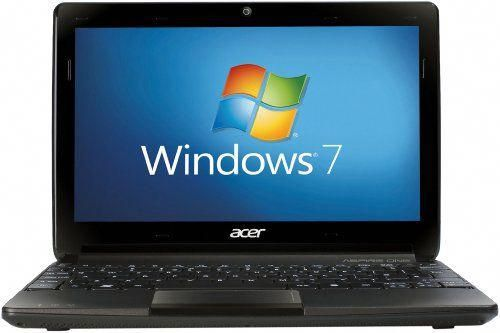 acer aspire one windows 7 recovery