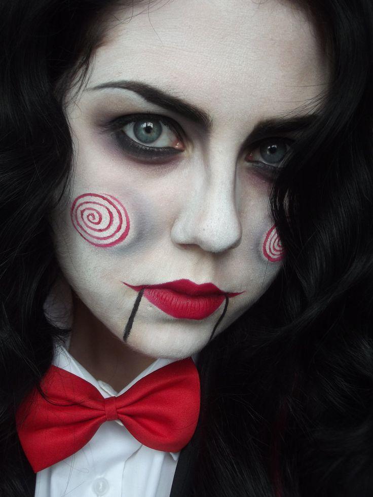 cute halloween makeup ideas puppet jpg 618x824 saw halloween mary puppet makeup pretty