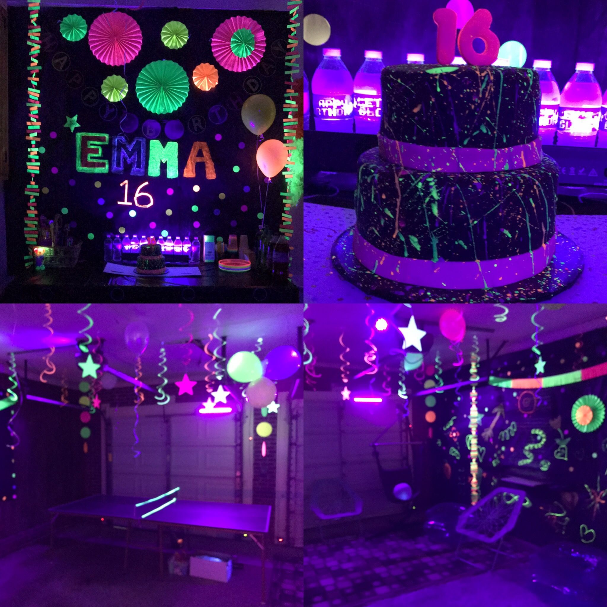 My Daughters 16th Birthday Party