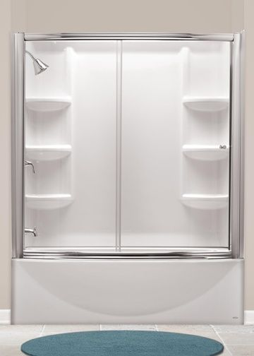 Would Be Perfect For 2nd Bath Remodel American Standard Saver Curved A Tub Optional Surround And Shower Door