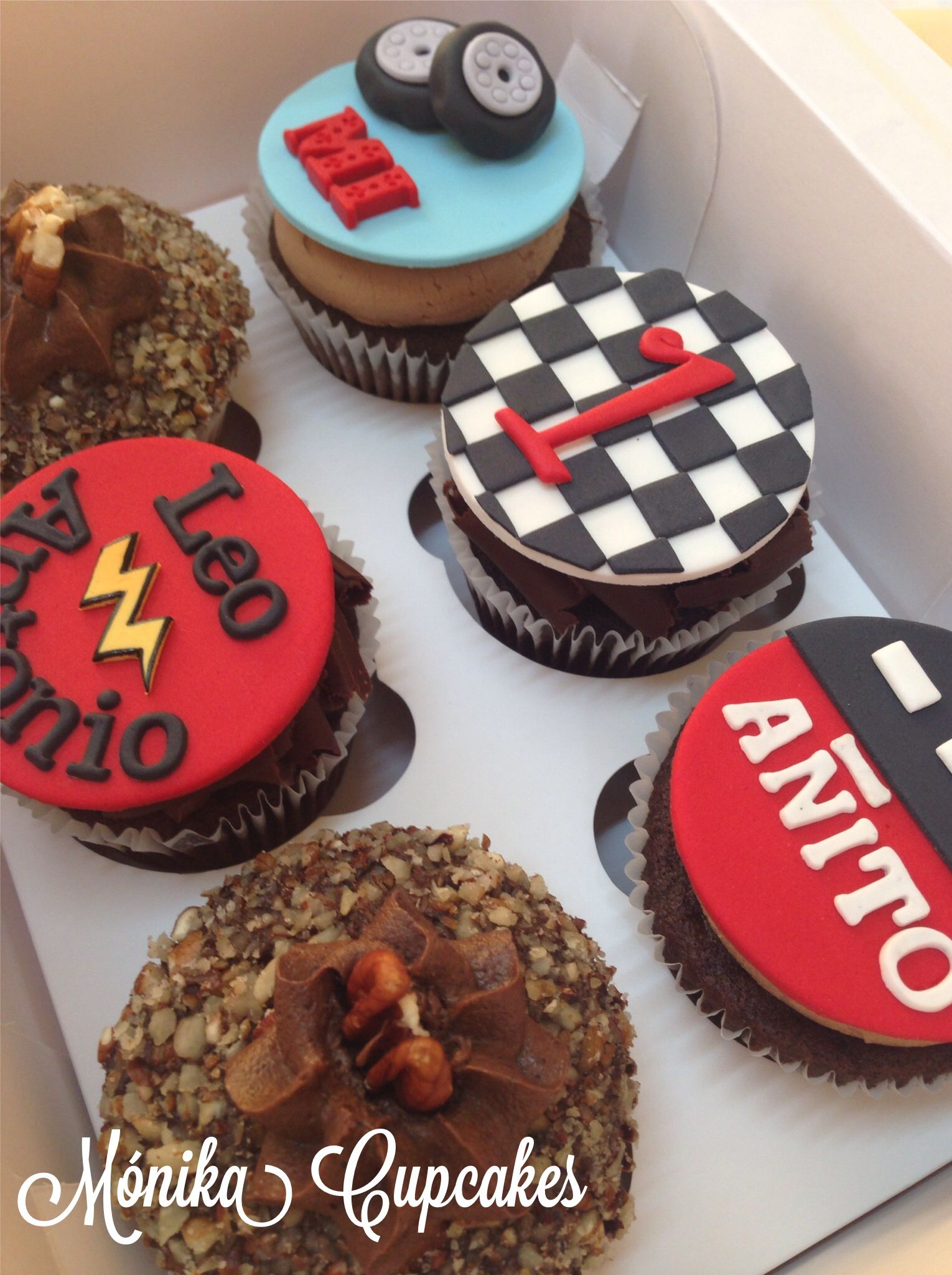 Cupcakes temáticos .... CARS!