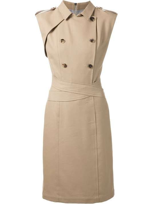 Love the Band Of Outsiders BAND OF OUTSIDERS trench coat style dress on Wantering.