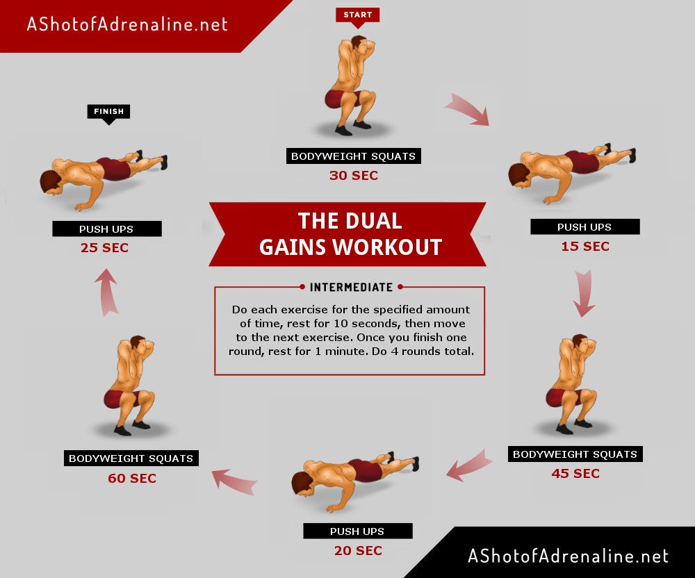 This is a fast paced minimalist whole body workout that ...
