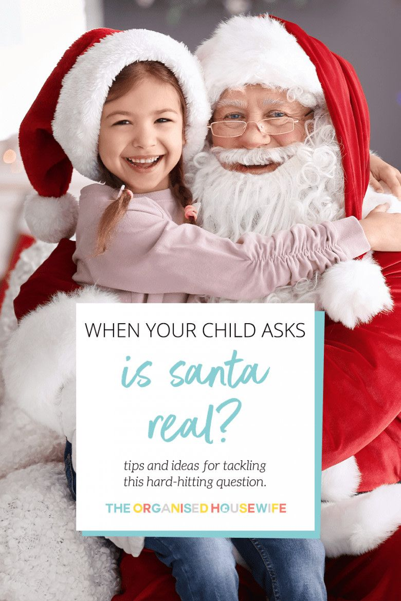 What To Say When Your Child Asks 'Is Santa Real?' Santa