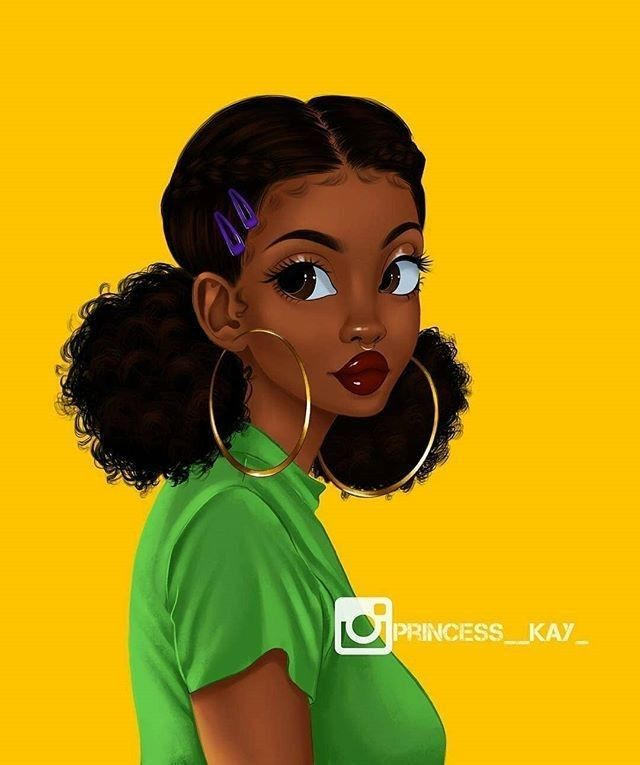 How To Dry Your Hair With Images Black Girl Art Drawings Of Black Girls Black Girl Magic Art
