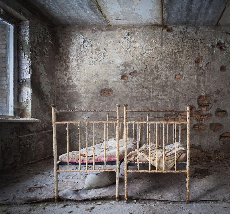 Child Hospital In The Abandoned City Of Pripyat (Chernobyl