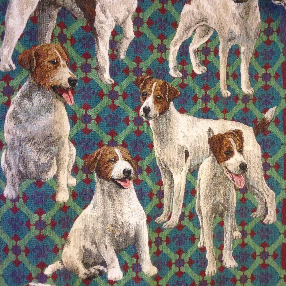 Goodwin weavers jack russell terrier dog triple woven