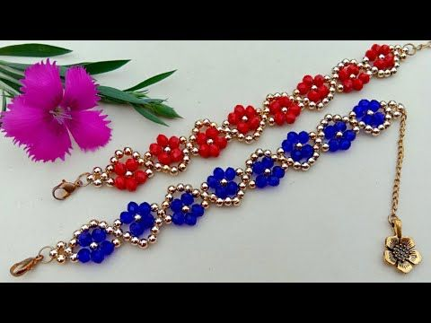 Photo of Bracelet Making How To//Easy Crystal Bracelet// Useful & Easy