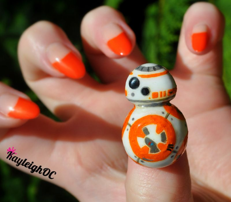 Awesome Nail Art Cool Design Inspiration Threadless Star Wars Nails Star Wars Crafts Star Wars Geek