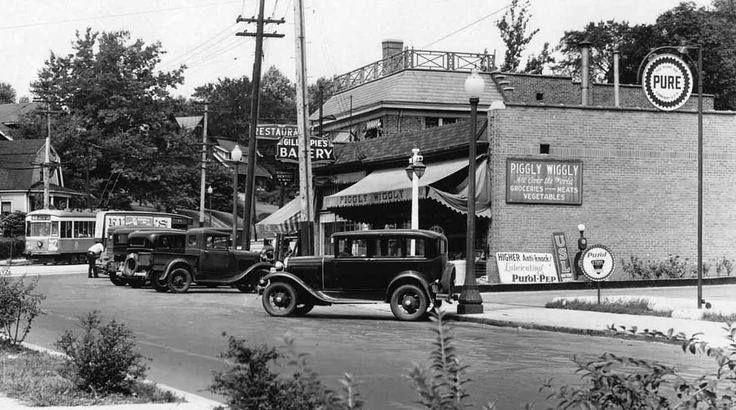 Piggly Wiggly Delta Ave Mt Lookout Square 1933 Cincinnati Ohio Cincinnati Photo