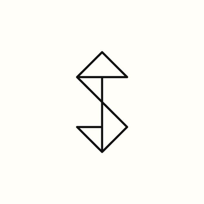 St Monogram By Richard Baird Available Logo Design