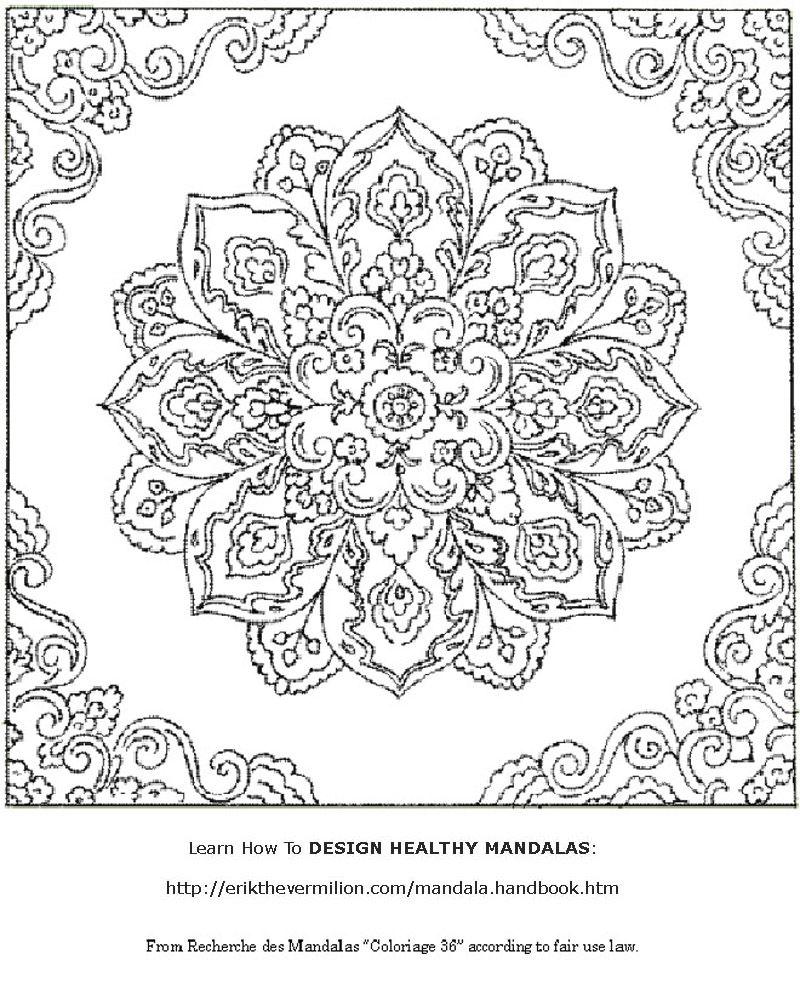 Free Mandala Coloring Book Pdf