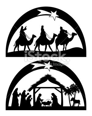Nativity Royalty Free Stock Vector Art Illustration
