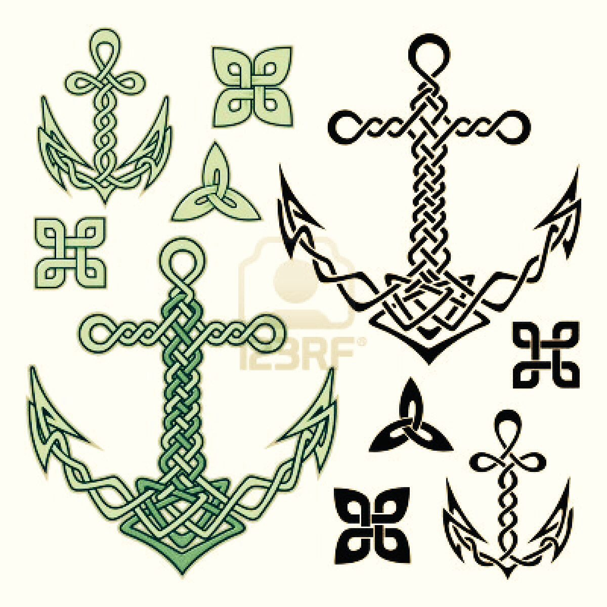 Celtic Knot and Anchors!!! I gotta have that as a tattoo!! | Tattoos ...