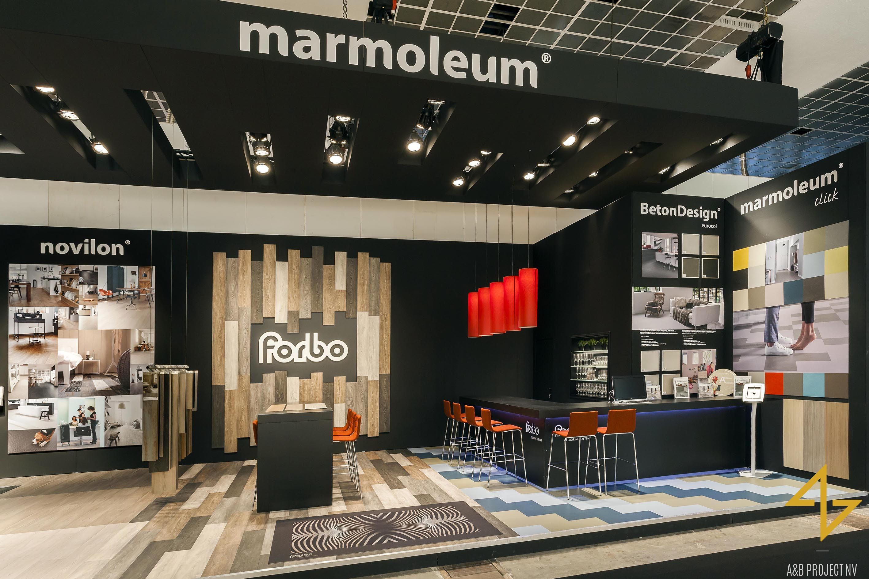 Exhibition stand design for FORBO FLOORING Интерьер