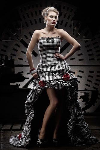 designer brautkleider feist kariertes brautkleid   Wedd   Pinterest ...