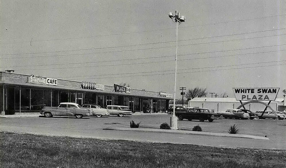 White Swan Plaza 1961 Old Fort Street View Scenes