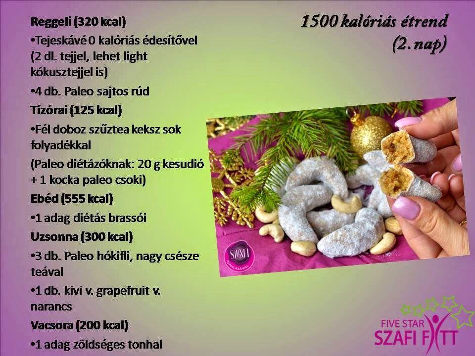 1500 kalóriás étrend minta)