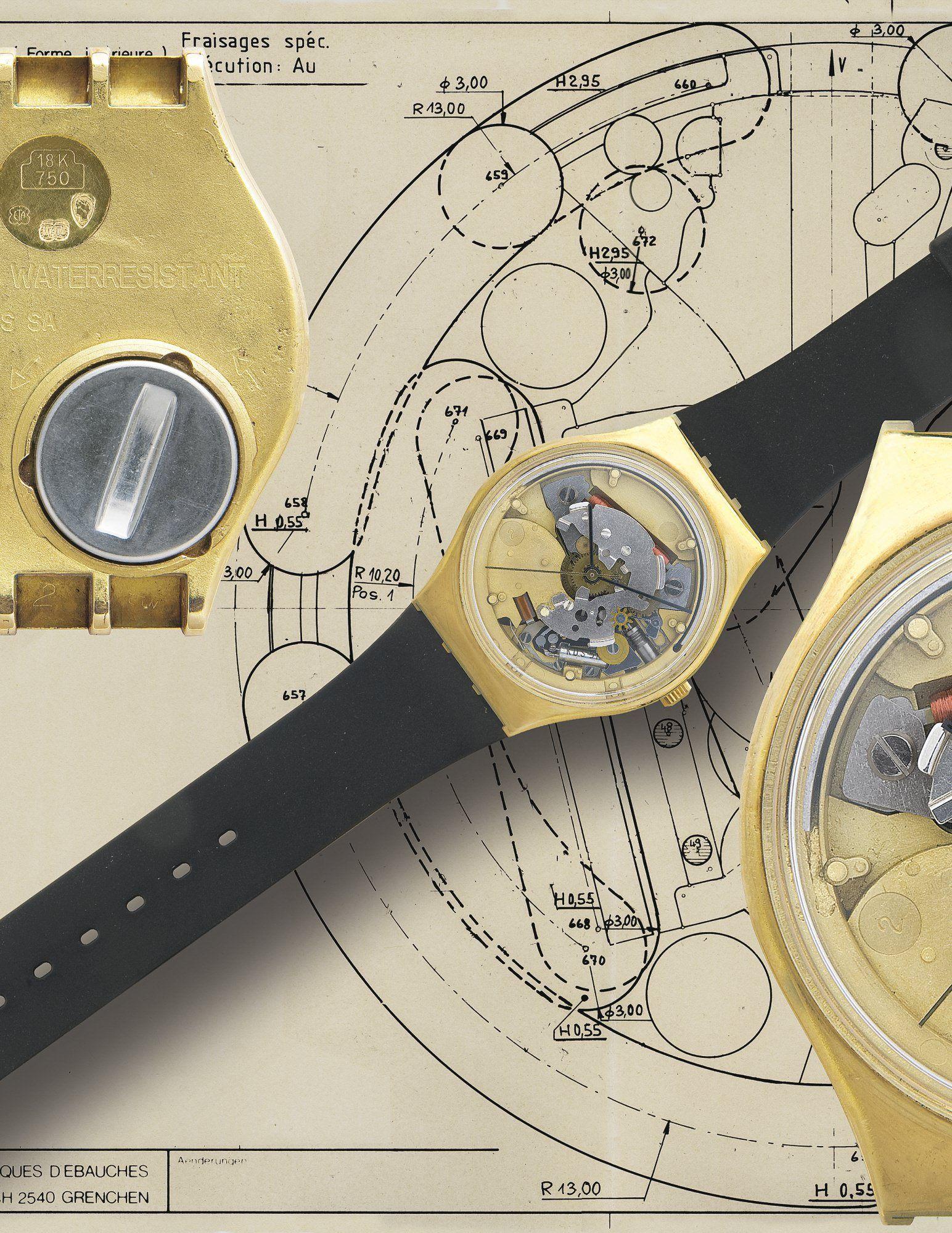 Se vende una exclusiva colección de relojes Swatch por 1,3 millones de dólares