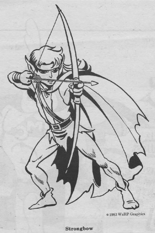 Strongbow from Elfquest, art by Wendy Pini. | Elfquest | Pinterest ...