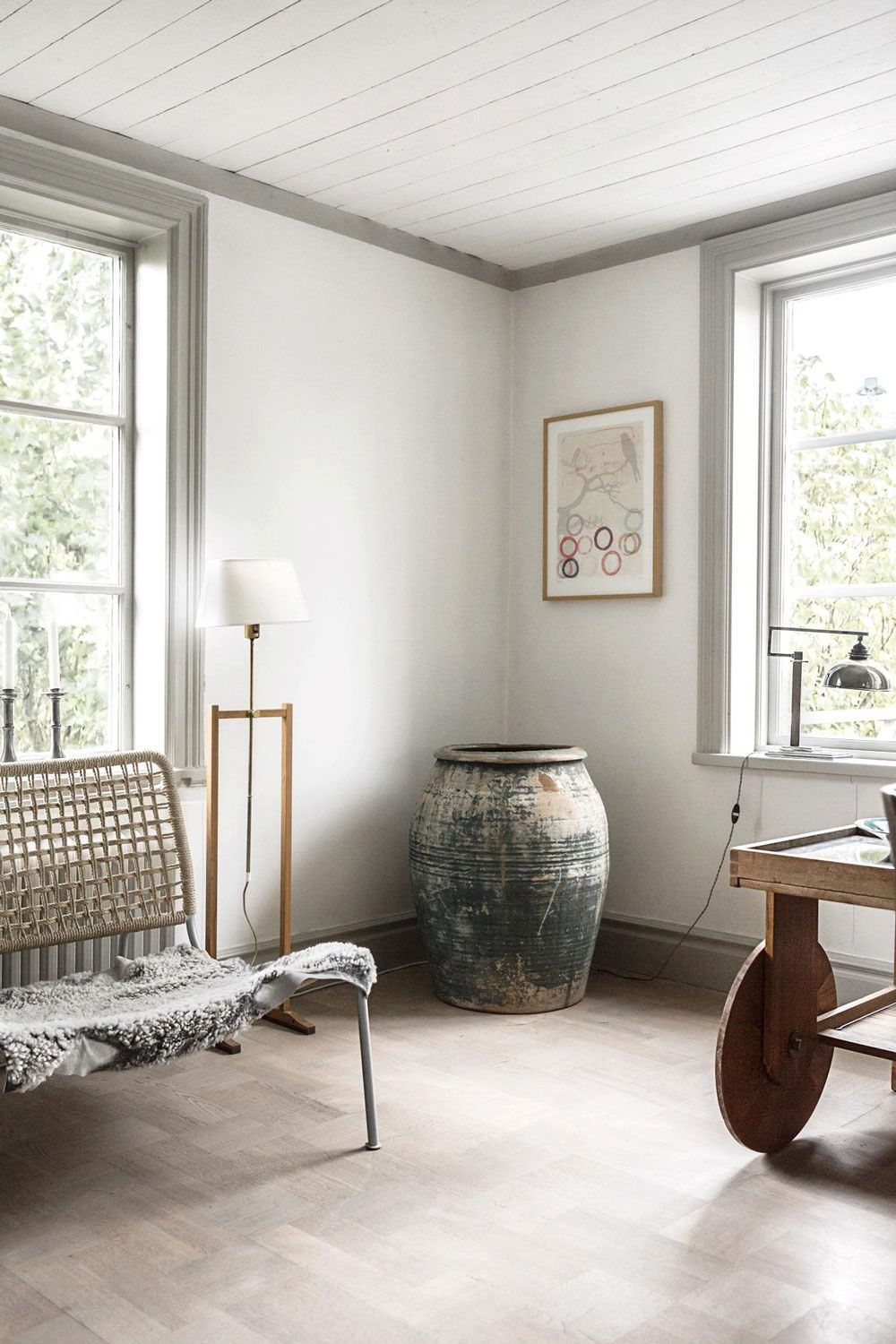 Dreaming Of This Serene Traditional Swedish Cabin Nordic Design My Scandinavian Home Home House Interior